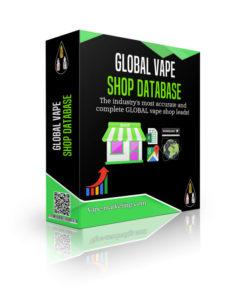 Global Vape Shop Database Leads