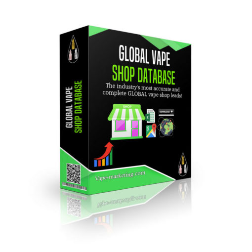 Global Vape Shop Database Leads