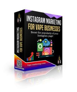 Instagram Marketing Vape Business