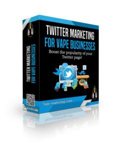 Twitter Marketing Vape Marketing