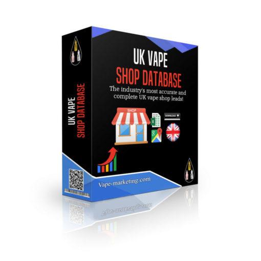 UK Vape Shop Database