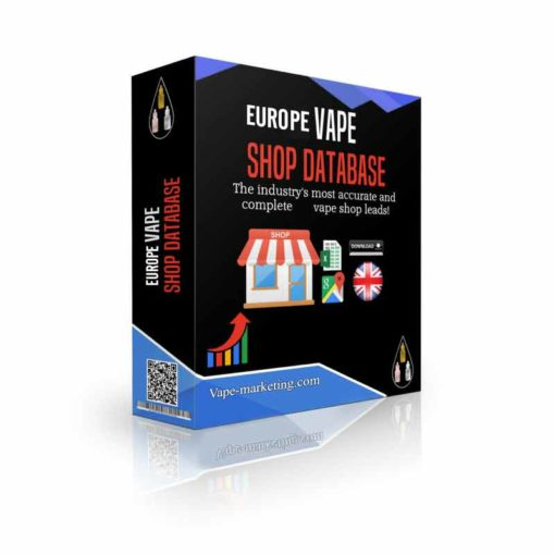 Europe Vape Store Database Leads