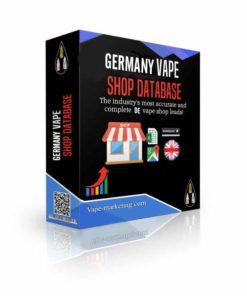 Germany Vape Shop Database Leads