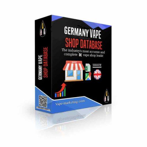 Germany Vape Shop Database Leads