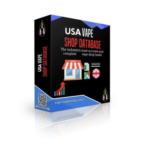 US Vape Store Database